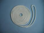 "3/4"" X 20' NYLON DOUBLE BRAID DOCK LINE - WHITE"